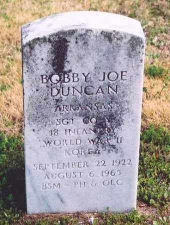 DUNCAN (VETERAN 2 WARS), BOBBY JOE - Yell County, Arkansas | BOBBY JOE DUNCAN (VETERAN 2 WARS) - Arkansas Gravestone Photos
