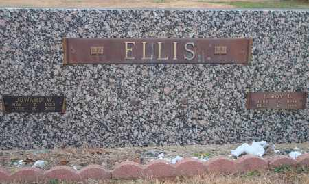 ELLIS, LEROY D - Yell County, Arkansas | LEROY D ELLIS - Arkansas Gravestone Photos