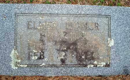 FRAZIER, ELMER HOMER - Yell County, Arkansas | ELMER HOMER FRAZIER - Arkansas Gravestone Photos