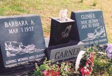 GARNER, GLENN E - Yell County, Arkansas | GLENN E GARNER - Arkansas Gravestone Photos