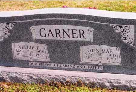 GARNER, OTIS MAE - Yell County, Arkansas | OTIS MAE GARNER - Arkansas Gravestone Photos