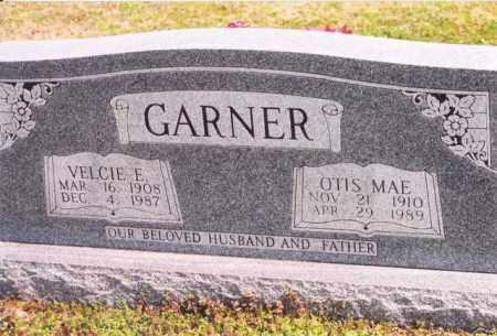 GARNER, VELCIE E. - Yell County, Arkansas | VELCIE E. GARNER - Arkansas Gravestone Photos