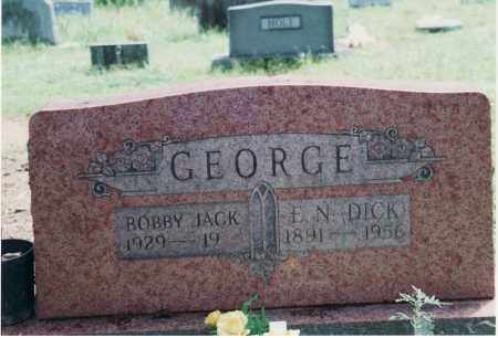 "GEORGE, ELMER NEWTON ""DICK"" - Yell County, Arkansas 
