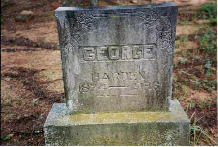 GEORGE, WILLIAM HARDIN - Yell County, Arkansas | WILLIAM HARDIN GEORGE - Arkansas Gravestone Photos