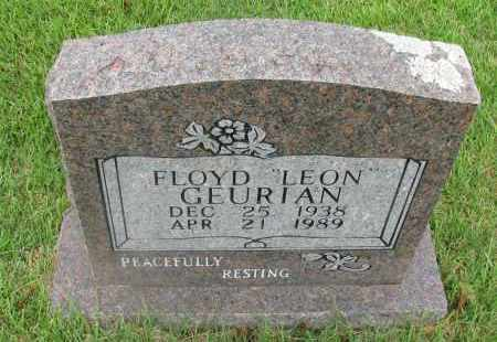 GEURIAN, FLOYD LEON - Yell County, Arkansas | FLOYD LEON GEURIAN - Arkansas Gravestone Photos