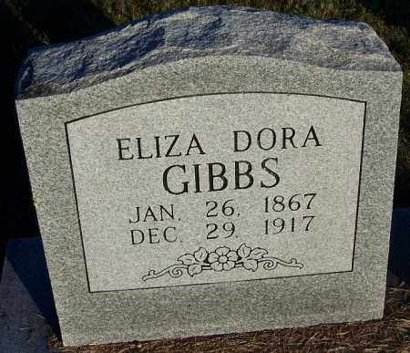 GIBBS, ELIZA DORA - Yell County, Arkansas | ELIZA DORA GIBBS - Arkansas Gravestone Photos