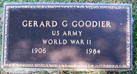 GOODIER (VETERAN WWII), GERARD G - Yell County, Arkansas | GERARD G GOODIER (VETERAN WWII) - Arkansas Gravestone Photos