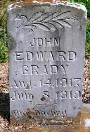 GRADY, JOHN EDWARD - Yell County, Arkansas | JOHN EDWARD GRADY - Arkansas Gravestone Photos