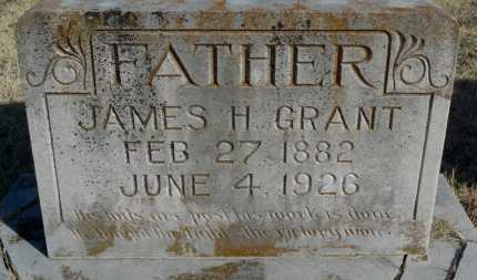 GRANT, JAMES H. - Yell County, Arkansas | JAMES H. GRANT - Arkansas Gravestone Photos