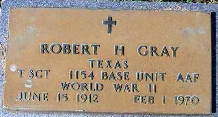 GRAY (VETERAN WWII), ROBERT H - Yell County, Arkansas | ROBERT H GRAY (VETERAN WWII) - Arkansas Gravestone Photos