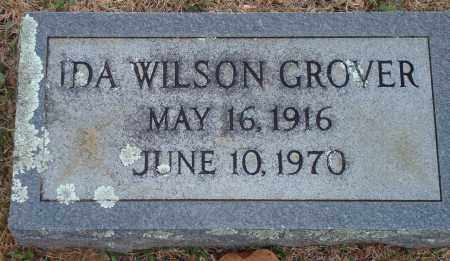 GROVER, IDA WILSON - Yell County, Arkansas | IDA WILSON GROVER - Arkansas Gravestone Photos