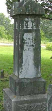 GROWNOVER, ROSA M - Yell County, Arkansas | ROSA M GROWNOVER - Arkansas Gravestone Photos