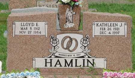 HAMLIN, LLOYD E - Yell County, Arkansas | LLOYD E HAMLIN - Arkansas Gravestone Photos