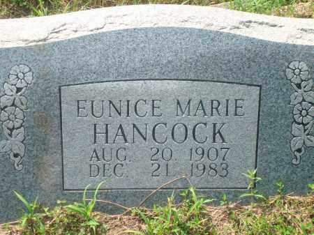 HANCOCK, EUNICE MARIE - Yell County, Arkansas | EUNICE MARIE HANCOCK - Arkansas Gravestone Photos