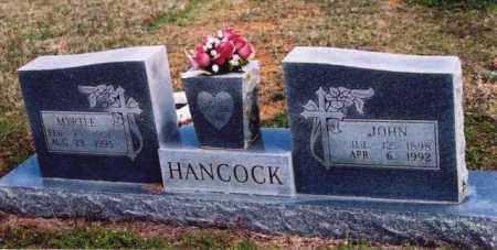 HANCOCK, JOHN - Yell County, Arkansas | JOHN HANCOCK - Arkansas Gravestone Photos