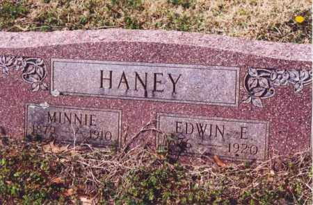 HANEY, EDWIN E. - Yell County, Arkansas | EDWIN E. HANEY - Arkansas Gravestone Photos