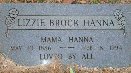 HANNA, LIZZIE - Yell County, Arkansas | LIZZIE HANNA - Arkansas Gravestone Photos