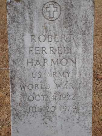 HARMON (VETERAN WWII), ROBERT FERRELL - Yell County, Arkansas | ROBERT FERRELL HARMON (VETERAN WWII) - Arkansas Gravestone Photos