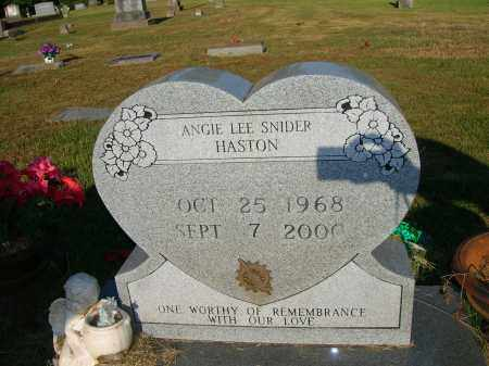HASTON, ANGIE LEE - Yell County, Arkansas | ANGIE LEE HASTON - Arkansas Gravestone Photos