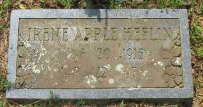HEFLIN, IRENE - Yell County, Arkansas | IRENE HEFLIN - Arkansas Gravestone Photos