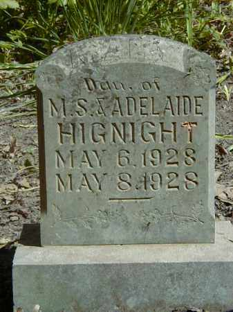 HIGNIGHT, MAY JO - Yell County, Arkansas | MAY JO HIGNIGHT - Arkansas Gravestone Photos