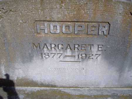 HOOPER, MARGARET E. - Yell County, Arkansas | MARGARET E. HOOPER - Arkansas Gravestone Photos