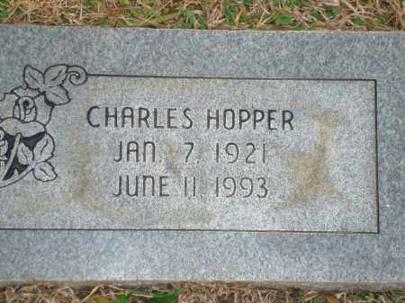 HOPPER, CHARLES - Yell County, Arkansas | CHARLES HOPPER - Arkansas Gravestone Photos