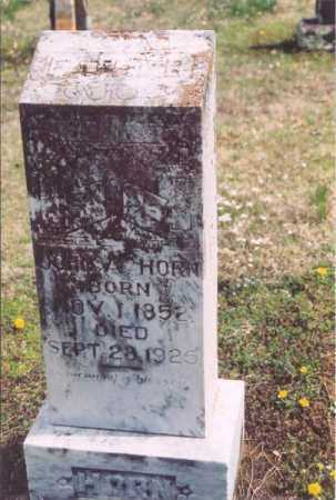 HORN, JOHN - Yell County, Arkansas   JOHN HORN - Arkansas Gravestone Photos
