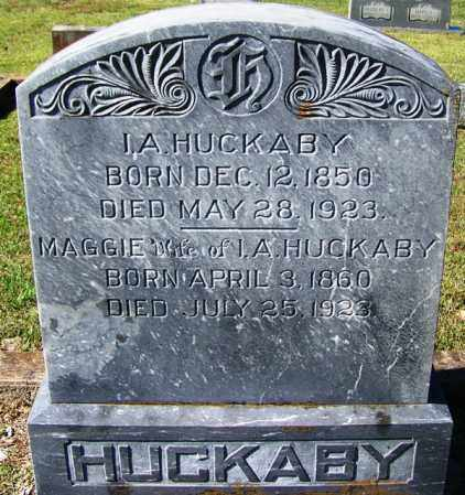 HUCKABY, I A - Yell County, Arkansas | I A HUCKABY - Arkansas Gravestone Photos