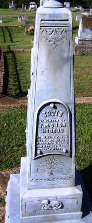 HUDSON, ERTIE - Yell County, Arkansas | ERTIE HUDSON - Arkansas Gravestone Photos
