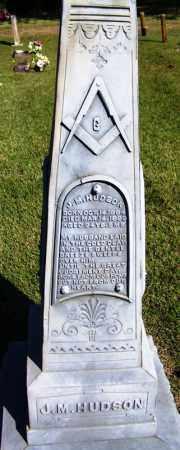 HUDSON, J M - Yell County, Arkansas | J M HUDSON - Arkansas Gravestone Photos