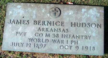 HUDSON (VETERAN WWI), JAMES BERNICE - Yell County, Arkansas | JAMES BERNICE HUDSON (VETERAN WWI) - Arkansas Gravestone Photos