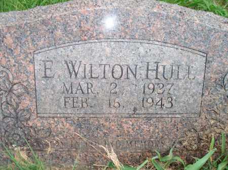 HULL, E. WILTON - Yell County, Arkansas | E. WILTON HULL - Arkansas Gravestone Photos