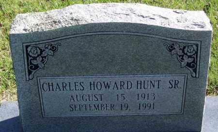 HUNT, SR., CHARLES HOWARD - Yell County, Arkansas | CHARLES HOWARD HUNT, SR. - Arkansas Gravestone Photos