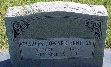 HUNT, SR., CHARLES HOWARD - Yell County, Arkansas | CHARLES HOWARD HUNT, SR. - Arkansas Gravestone Photos