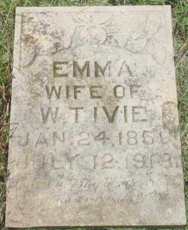 MOIT IVIE, EMMA - Yell County, Arkansas | EMMA MOIT IVIE - Arkansas Gravestone Photos