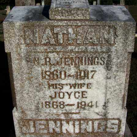 JENNINGS, JOYCE - Yell County, Arkansas | JOYCE JENNINGS - Arkansas Gravestone Photos