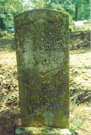 JONES  (VETERAN UNION), ANDREW - Yell County, Arkansas | ANDREW JONES  (VETERAN UNION) - Arkansas Gravestone Photos