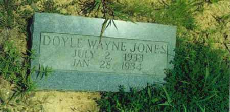 JONES, DOYLE WAYNE - Yell County, Arkansas | DOYLE WAYNE JONES - Arkansas Gravestone Photos