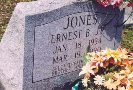 JONES, JR, ERNEST B - Yell County, Arkansas | ERNEST B JONES, JR - Arkansas Gravestone Photos