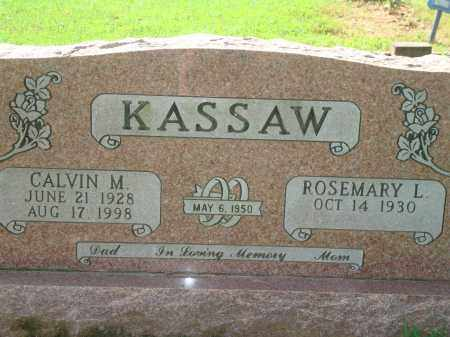 KASSAW, CALVIN M. - Yell County, Arkansas | CALVIN M. KASSAW - Arkansas Gravestone Photos