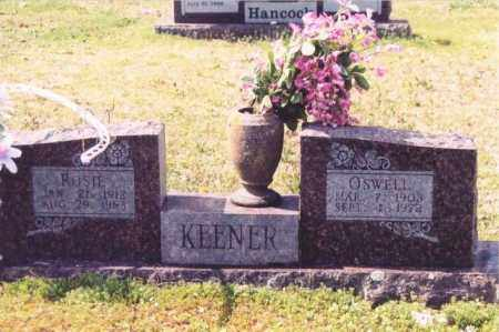KEENER, MALCOLM OSWELL - Yell County, Arkansas | MALCOLM OSWELL KEENER - Arkansas Gravestone Photos