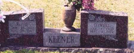 GARNER KEENER, ROSIE EFFIE - Yell County, Arkansas | ROSIE EFFIE GARNER KEENER - Arkansas Gravestone Photos