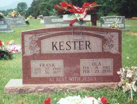 KESTER, FRANK - Yell County, Arkansas | FRANK KESTER - Arkansas Gravestone Photos