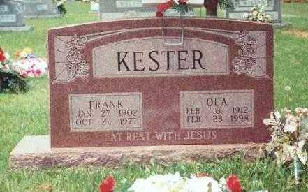 RHEUARK KESTER, OLA MAE - Yell County, Arkansas | OLA MAE RHEUARK KESTER - Arkansas Gravestone Photos