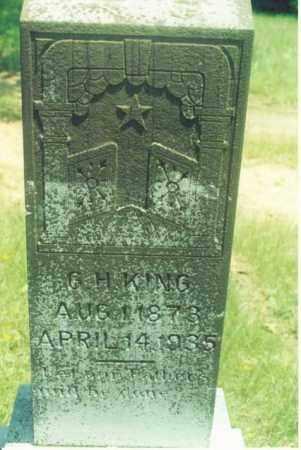 KING, G. H. - Yell County, Arkansas | G. H. KING - Arkansas Gravestone Photos