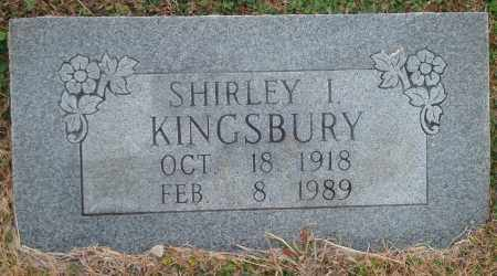 KINGSBURY, SHIRLEY I. - Yell County, Arkansas | SHIRLEY I. KINGSBURY - Arkansas Gravestone Photos