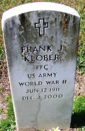 KLOBER (VETERAN WWII), FRANK J - Yell County, Arkansas | FRANK J KLOBER (VETERAN WWII) - Arkansas Gravestone Photos