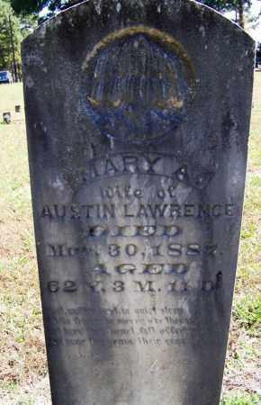 LAWRENCE, MARY A - Yell County, Arkansas | MARY A LAWRENCE - Arkansas Gravestone Photos
