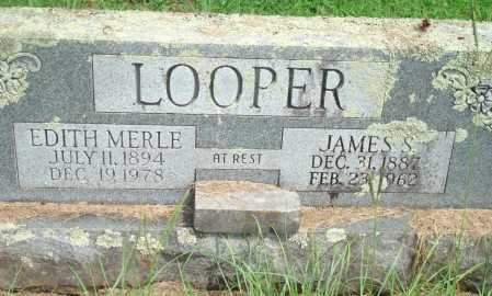 LOOPER, JAMES S - Yell County, Arkansas | JAMES S LOOPER - Arkansas Gravestone Photos